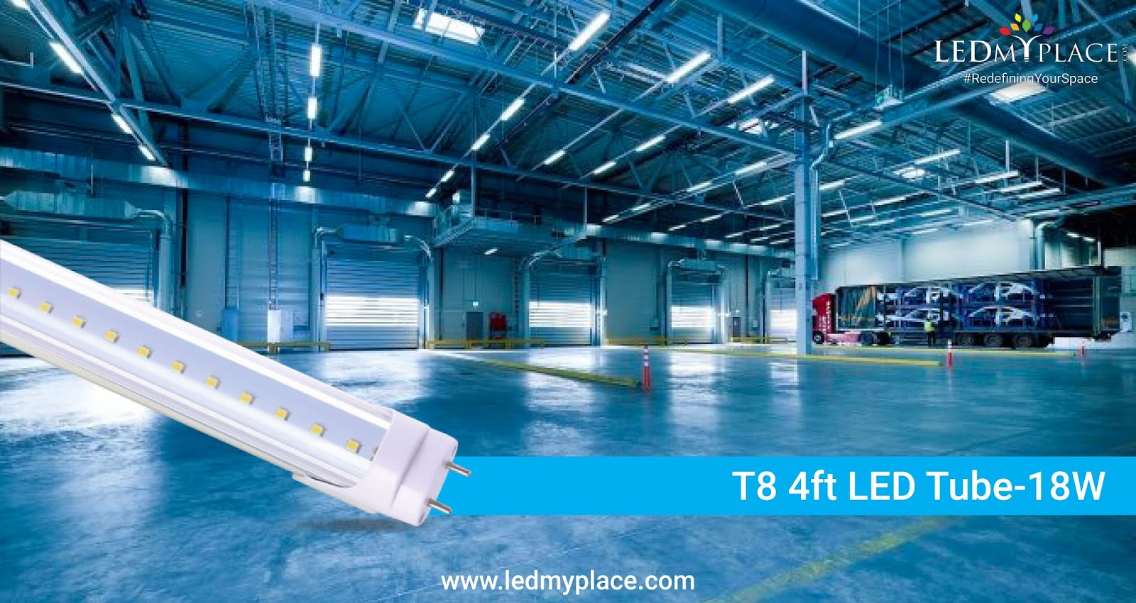 Exterior Led Tube Lights T8 4ft Led Tube A Quick Easy Replacement For T8 4ft Fluorescent