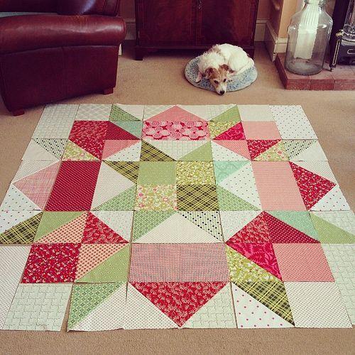 Moda Love Quilt - Free Pattern