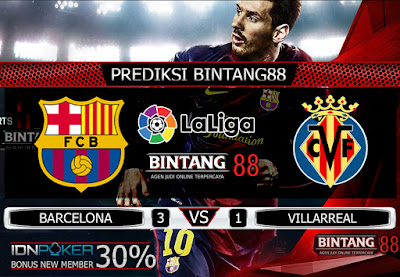 PREDIKSI SKOR BARCELONA VS VILLARREAL 25 SEPTEMBER 2019