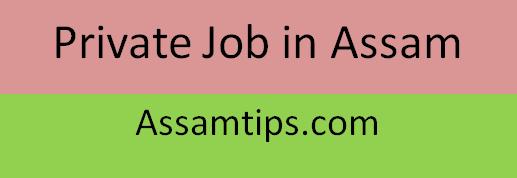 Top Private job in Guwahati, Assam August-September 2020 | Job in Assam