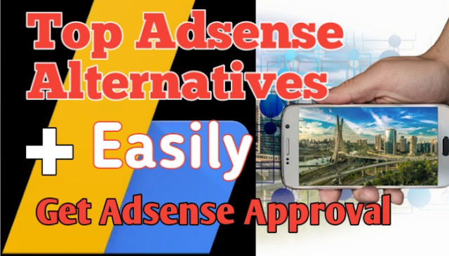 Best Adsense Alternatives Ad networks For New Website Maker ~ get monetize your website without adsense