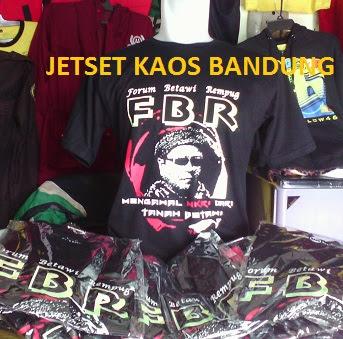 Kaos Baju Forum Betawi Rempug bikin di Konveksi Kaos Bandung