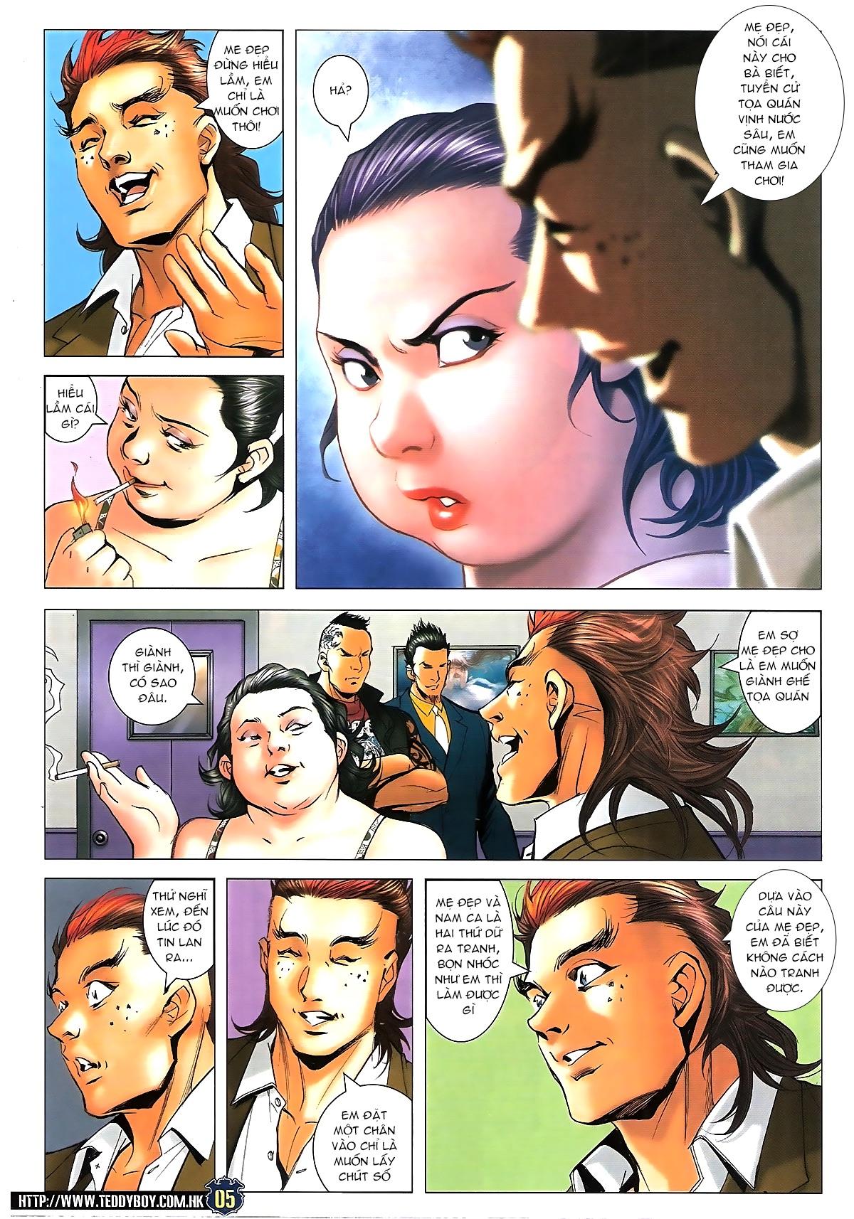 Người Trong Giang Hồ - Chapter 1627: Sợ vỡ mật - Pic 4
