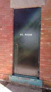 Oil house at Forty Mile Point Lighthouse
