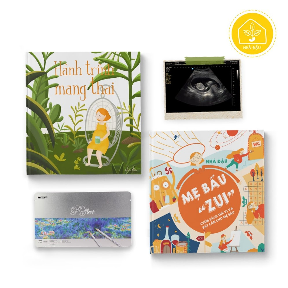 [A116] Activity book: Combo sách nên có khi mang thai