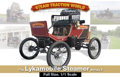 Make a Steam car