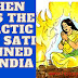 When was the practice of Sati banned in India
