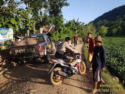 Polsek Pujut Lombok Tengah Bubarkan Arena Judi Sabung Ayam
