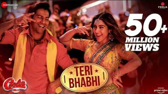 तेरी भाभी Teri Bhabhi Lyrics In Hindi - Coolie No. 1