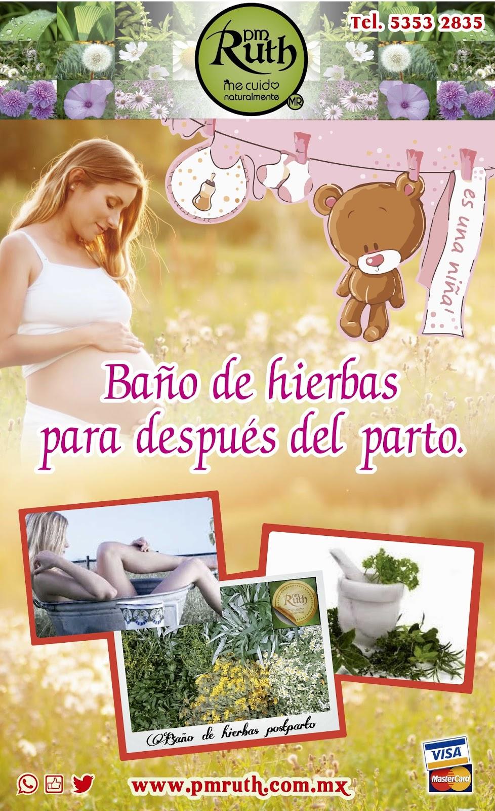 Plantas Medicinales Ruth: BAÑO DE HIERBAS POST-PARTO ó PARA ...