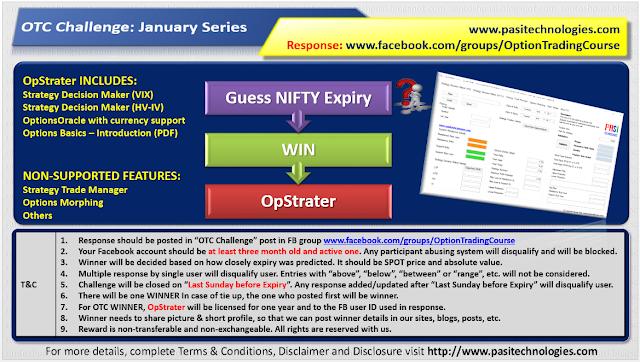 OTC Challenge: January 2019