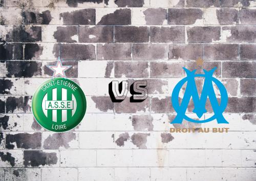 Saint-Étienne vs Olympique Marseille  Resumen