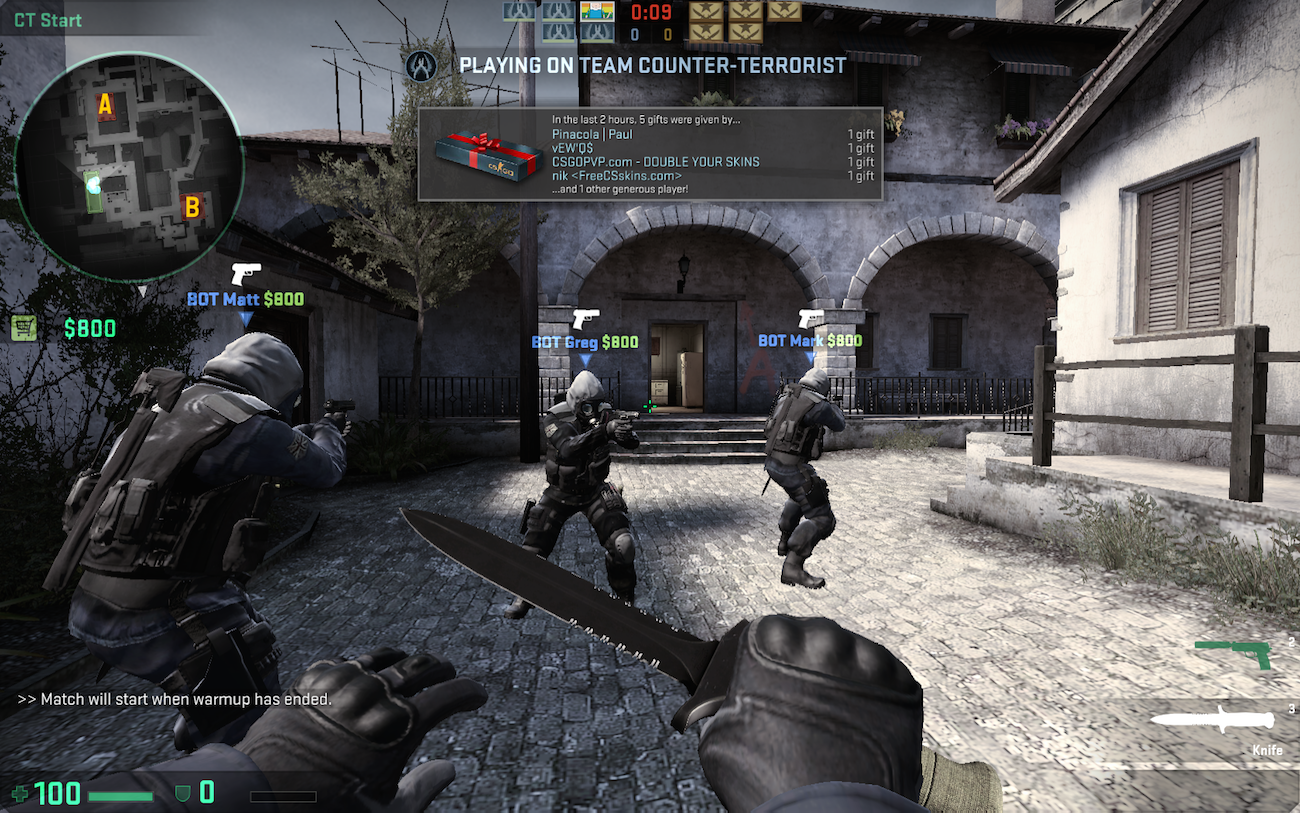 How to Host your own CS:GO Competitive Match for Friends