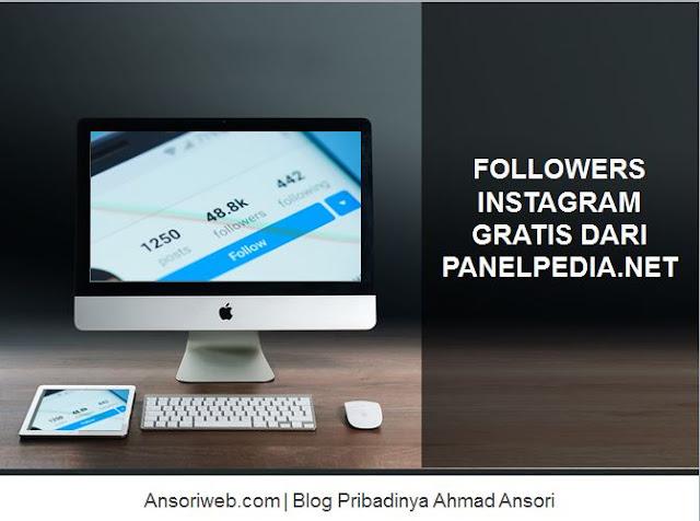 Mendapatkan Followers Instagram Gratis dari PanelPedia.NET