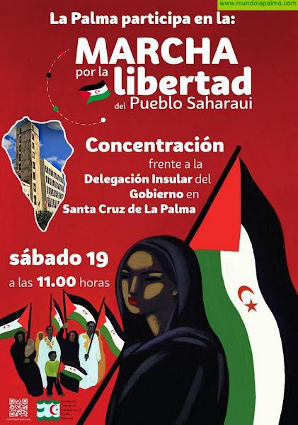 El C.D. Caminantes de Las Breñas se suma a la marcha por la libertad del Pueblo Saharaui
