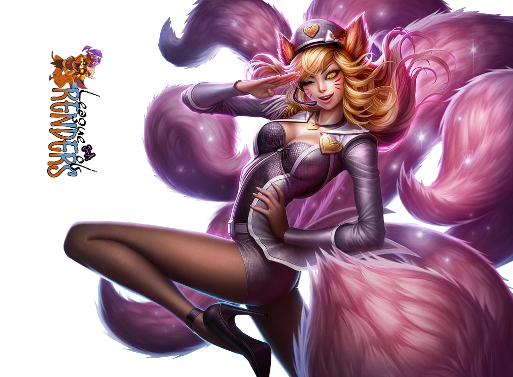 RENDER AHRI POP STAR SKIN