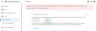 Gb.2 Buat file ads.txt utuk situs