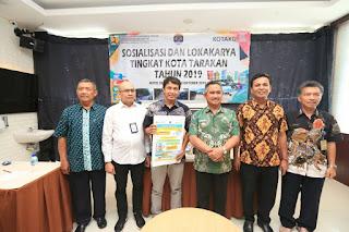 Sosialisasi dan Lokakarya Program Kota Tanpa Kumuh Tingkat Kota Tarakan TA 2019 - Tarakan Info