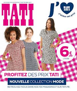 Catalogue Tati est valable du 5 - 17 Septembre 2017