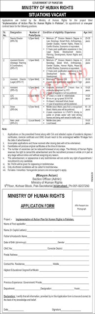 ministry-of-human-rights-islamabad-jobs-2021