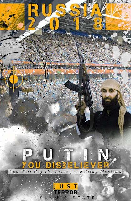 ИГИЛ объявил, что замочит Путина во время ЧМ-2018