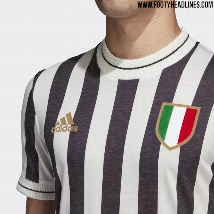 buy popular e0d63 f4066 Adidas Juventus 2018 Retro Jersey Leaked - Footy Headlines