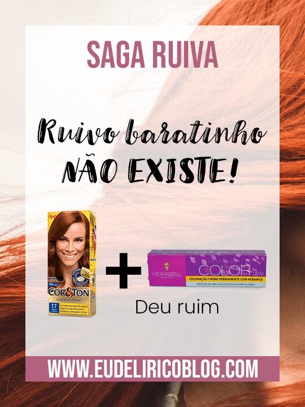 Saga ruiva: Ruivo baratinho NÃO EXISTE!