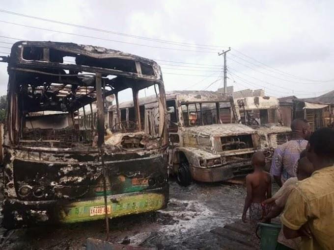 Ogun Deputy Speaker's Office, Vehicles Set Ablaze in Ifo