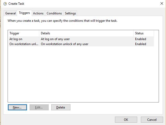 Tắt màn hình khóa máy tính Windows 10 bản mới