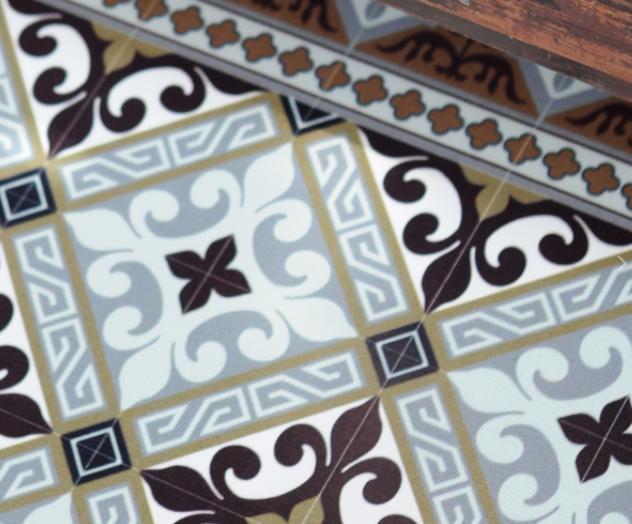 sol vinyle carreaux de ciment un sol en vinyle carreaux. Black Bedroom Furniture Sets. Home Design Ideas