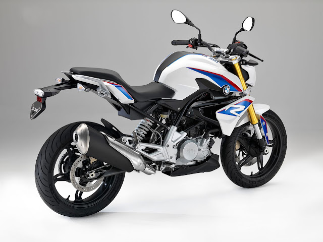 BMW G310R FULL VIEW