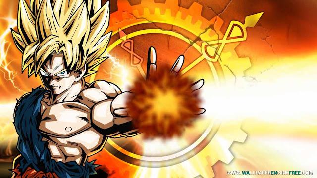 Dragon Ball Goku Wallpaper Engine