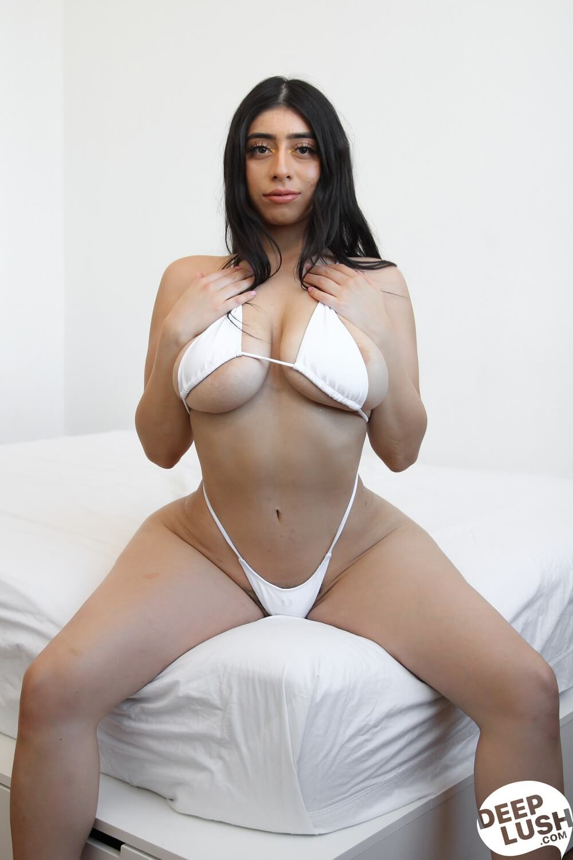 Big Tits School Threesome