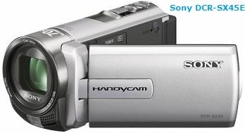 Sony DCR-SX45E camcorder - consumer review