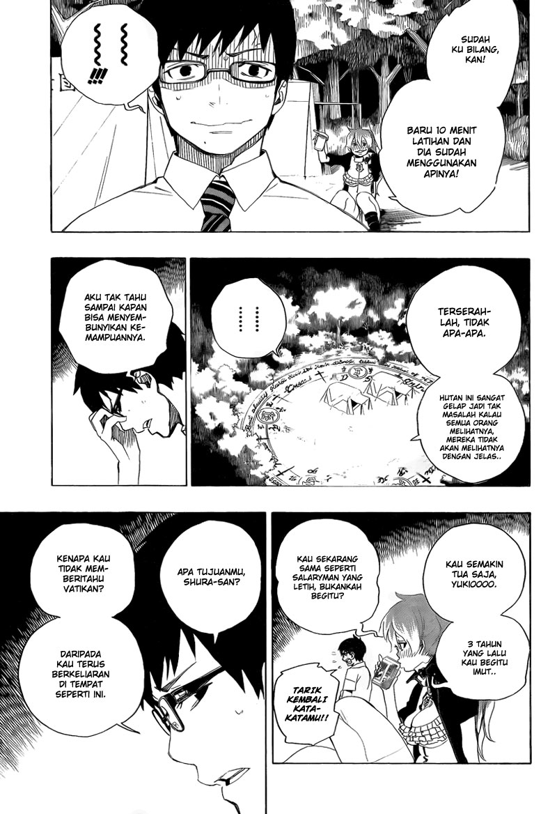 Ao no Exorcist Chapter 12-10