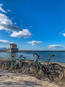 lake fusaro full carbon road bike rental in Naples cycling excursions and tours paths routes things to do