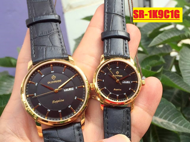 Đồng hồ dây da SR 1K9C1G