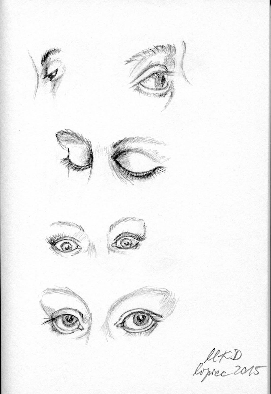 oczy mężczyzny co mówią
