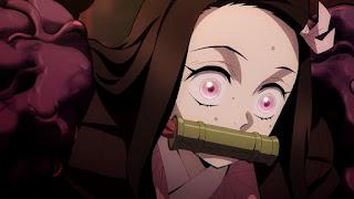 鬼滅の刃アニメ 劇場版 無限列車編   竈門禰豆子 爆血 Kamado Nezuko   Demon Slayer Mugen Train