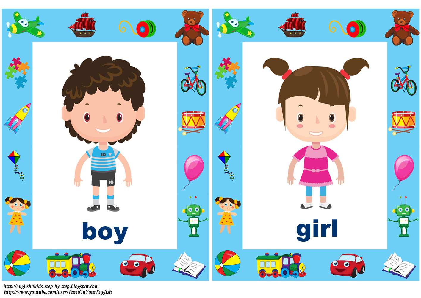 English For Kids Step By Step Toys Song For Children