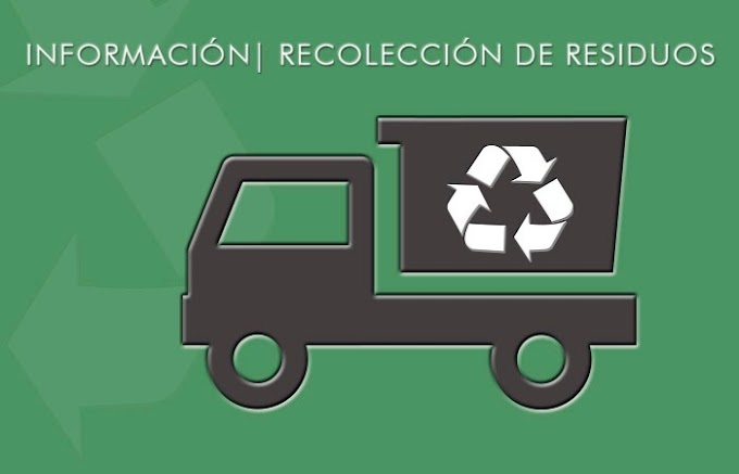 RECOLECCIÓN DE RESIDUOS EN ESTAS FIESTAS