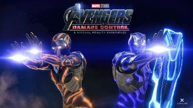 Marvel Studios Avengers Virtual Reality Game