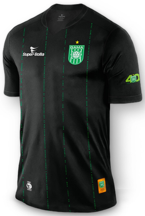 2f69a47fa1164 Super Bolla lança terceiro uniforme do Gama - Show de Camisas