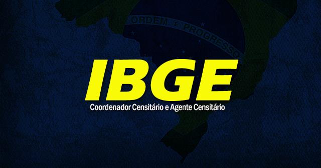 IBGE 2019: Agente e Coordenador Censitário