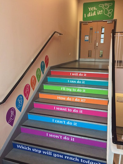 Classroom Decor Ideas For High School ~ Growth mindset feedback cats step by