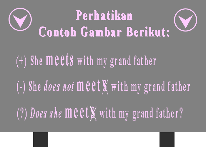 Contoh kalimat simple present verbal
