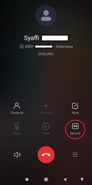 Dimana Call Recording Rekaman Telepon di Simpan pada Xiaomi Redmi Note 8 pro