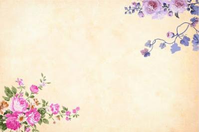 Desain Latar Belakang Frame Undangan tema Bunga JPG zotutorial.com