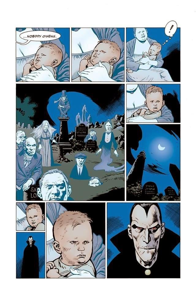 """P. Craig Russel e seu """"O Livro do Cemitério"""" de Neil Gaiman   Críticas   Revista Ambrosia"""