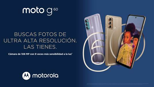 Fotografías de ultra alta resolución y un gran desempeño: Motorola lanza en México el nuevo moto g60